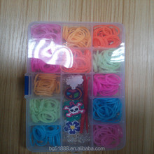 2014 crazy hot selling fun loom rubber band and loom band kit and diy rubber loom band