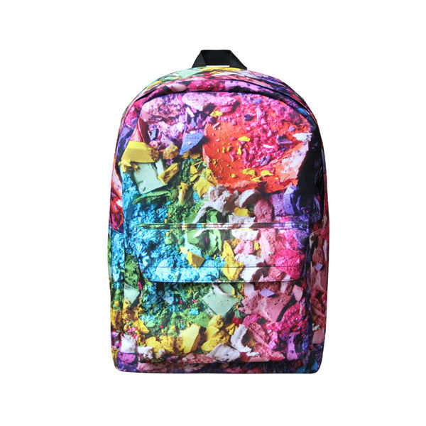 Wholesale Fashion Printing colorful cute girls school backpack ...