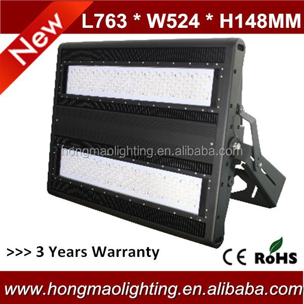600W energy saving high power stadium airport lighting led flood light