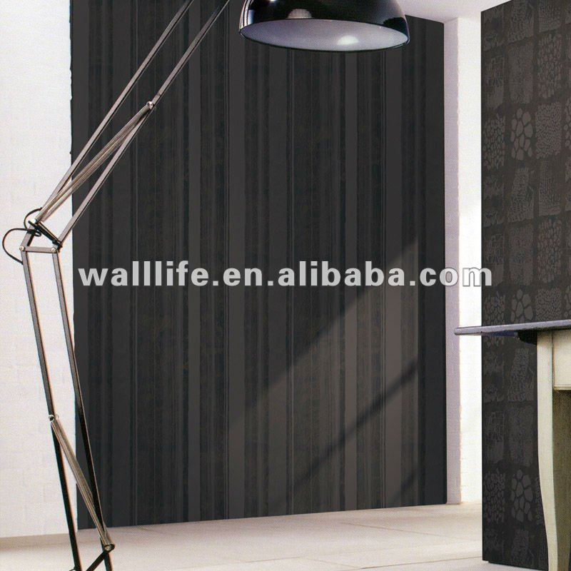 Natural decorative non-woven wallpaper for hotel,house,bar,ect.