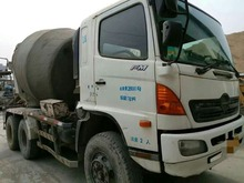 Used hino concrete mixer for sale, used 8 cubic meters concrete mixer truck, hot!!!