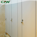 CRW Compact board 12mm hpl wood toilet partition price