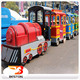 Attractive park rides kids indoor playground equipment tourist electric trackless train for sale