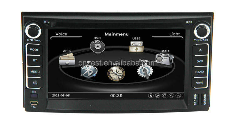 Universal car dvd for KIA Cerato/Sportage/Ceed/Sorento/Spectra auto radio stereo with RDS BT 3G automobile gps navigation system