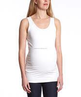 2016 New Soft Maternity T-Shirt With White Maternity Tank Tops Sleeveless Women Clothing WT80817-54