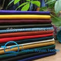 CVC 55/45 16X12 108X56 Poly cotton twill fabric for unifrom/workwear 16S*12S 260gsm