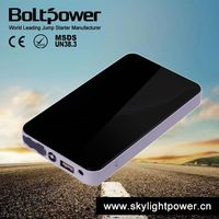 original mobile phone accessories portable power bank charger with tyre inflator for car jump