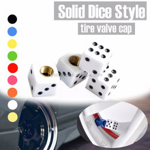 BYC Car Solid Dice Valve Cover Guangzhou Tire Valve Cap China Tire