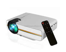Stylish appearance decoration YG400 Portable LCD Projector with Remote Control
