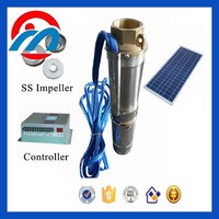 All 304 stainless steel solar 2 hp submersible well pump