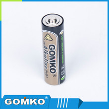 Zn/MnO2 Battery Type 1.5V LR6 Alkaline Battery