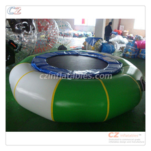 New arrival strong springs structured sungear 3m inflatable dbx water trampoline