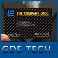 2015 new technology personality book business name card carbon fiber business name card