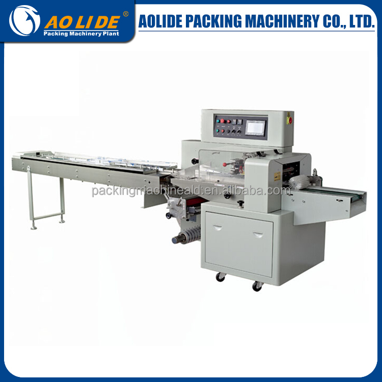 Horizontal packing machine flow wraping machine for ice lollipop