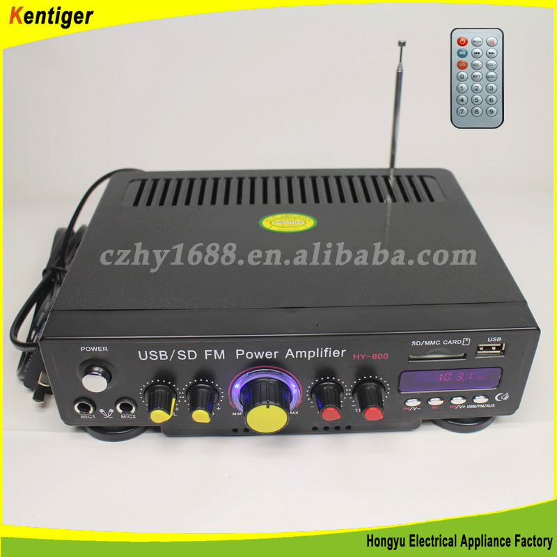 100db SNR car amplifier