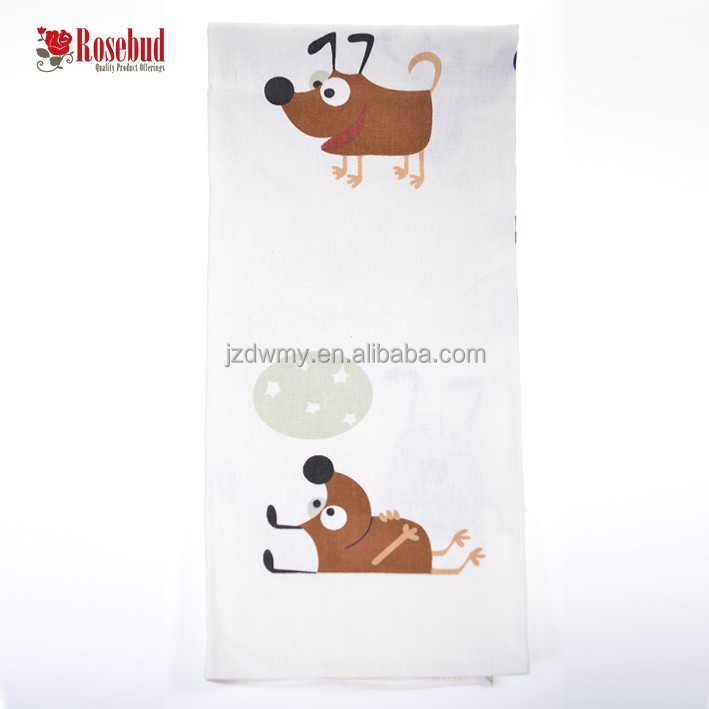 Cheap wholesale bulk kitchen tea towel personalized tea towels