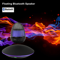 magnetic floating bluetooth wireless motorcycle speaker with boom box