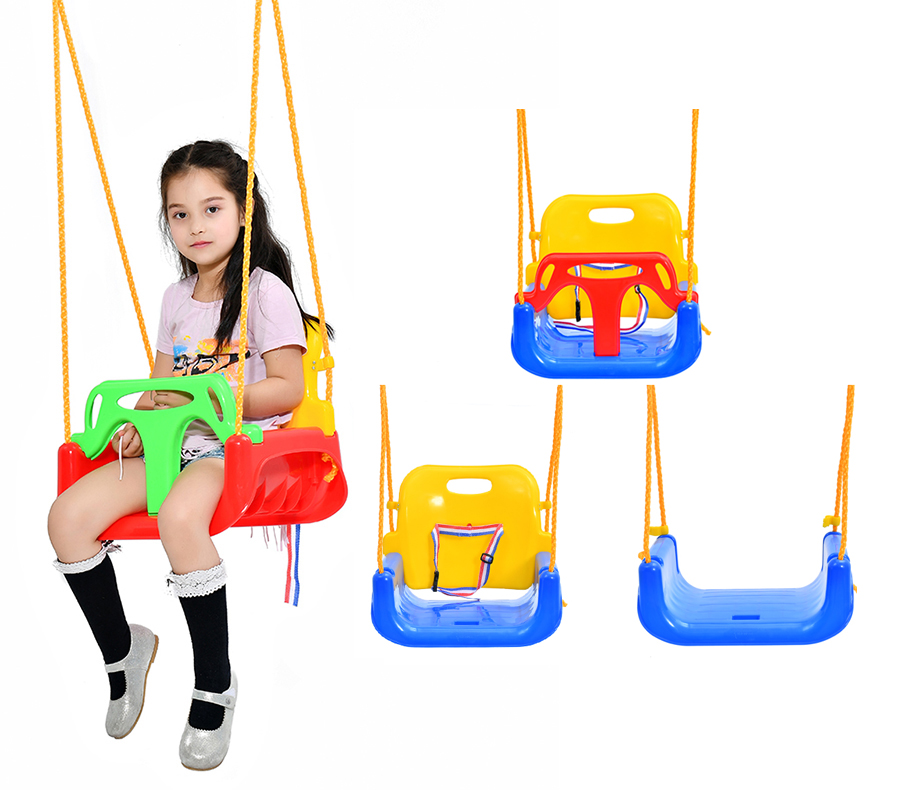 Brand Outdoor Playground 3 In 1 Kids Patio Swing Wholesale Custom Hanging  Swing Chair
