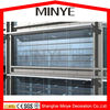 vacuum insulated panel laminated glass decorative curtain wall