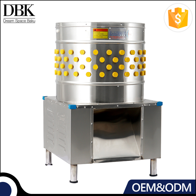 DBK Commercial chicken plucker machine/poultry processing slaughtering equipment/hair removal machine