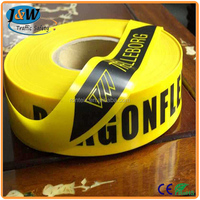 Wholesale Underground Detectable Warning Tape / Yellow Caution Tape / PE Warning Tape