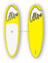 OEM Professional Clear Bamboo SUP paddle board