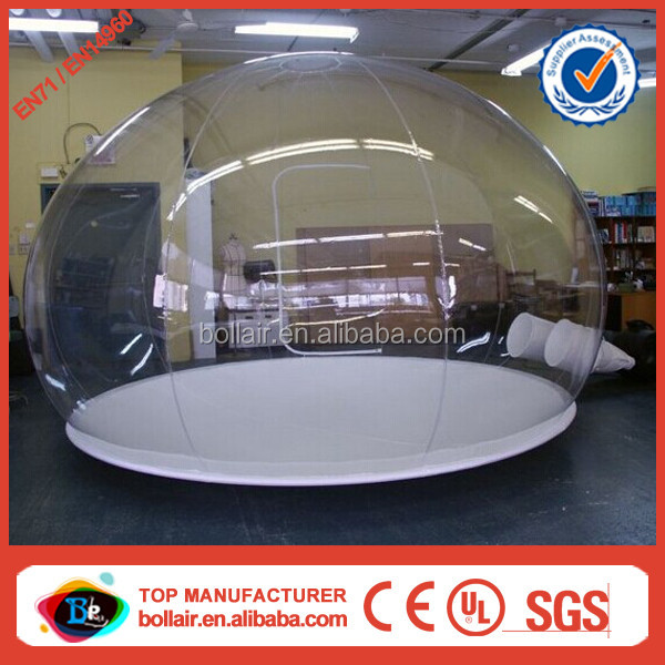 Customized design round PVC clear inflatable motorcycle cover