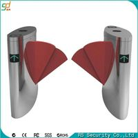 Factory price access control passage flap barrier turnstiles modern main gate designs
