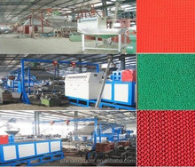 QingdaoPVC spinneret carpet production line
