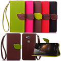 Case for Huawei G8 G7 Plus , Hot Selling High Quality PU Leather Flip Cover Wallet Case for Huawei G8 G7 Plus with Hand Strap