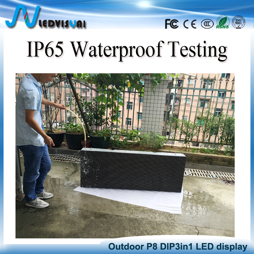 P6 P8 P10 Outdoor LED truck Mobile advertising screen board