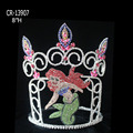 Cartoon Theme Beauty Princess mermaid Crown