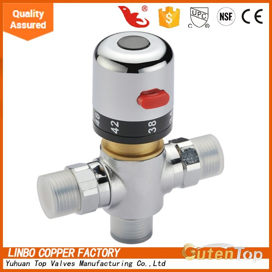 Free Shipping Hot Model Bathtub And Shower Thermostatic Faucet Shower Mixing Valve Constant Temperature Taps All Brass