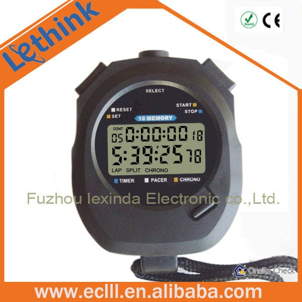 2017 Newest Large lcd Display count up and down digital timer