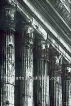 Handmade Greece Ancient Buildings Column Oil Paintings