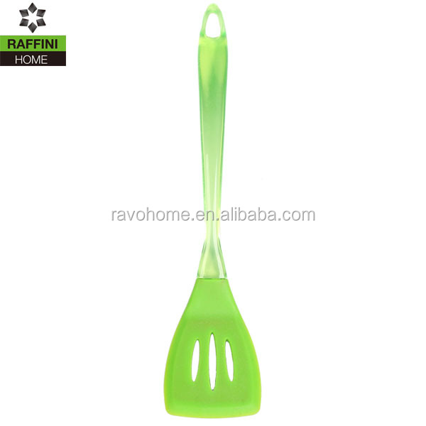 Factory Cooking Utensil Silicone Slotted Turner