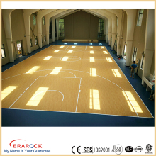 Moisture-proof sports vinyl floor noiseless foam rolls gym floor used indoor basketball for sales