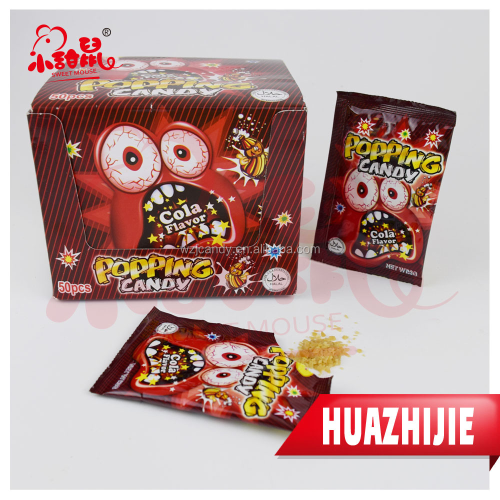 149201610 Magic Popping Candy/Pop Rock Jumping Candy Manufacturer