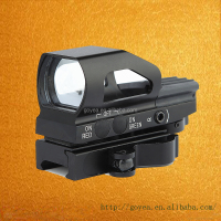 Goyea HD104 Red and green dot reflex sight with QD mount for hunting rifle scope