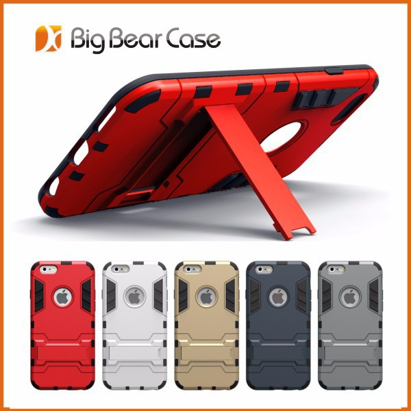 Shockproof combo cover case for ip6 plus