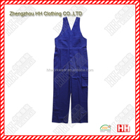 pure cotton working bib overalls in europe
