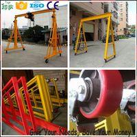 Foldable Mini 0.5Ton Warehouse Gantry Crane