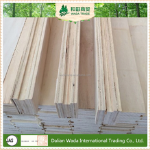 WADA grooved/slotted LVL plywood