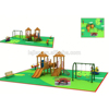 Europe pretty new type multi function outside playground equipment