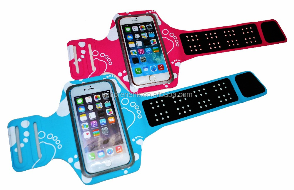 New Arrival Factory Wholesale High Quality Lycra Sports Running Jogging Gym Armband Case for iPhone 6