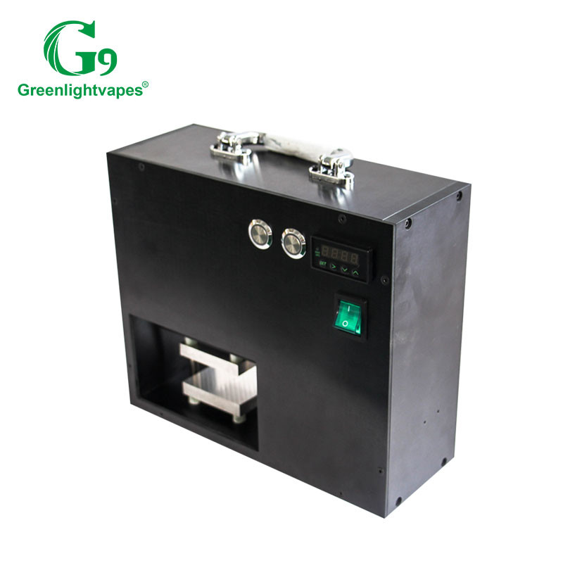 Shenzhen 6x6 automatic arbor G9 dab portable electric enail rosin press