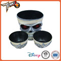 holiday household supplies plastic decorative skull bowl halloween decorations party for wholesale