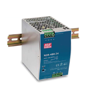 Meanwell 480W Industrial DIN RAIL Power Supply 48V 10A SMPS NDR-480-48 Slim and Economical