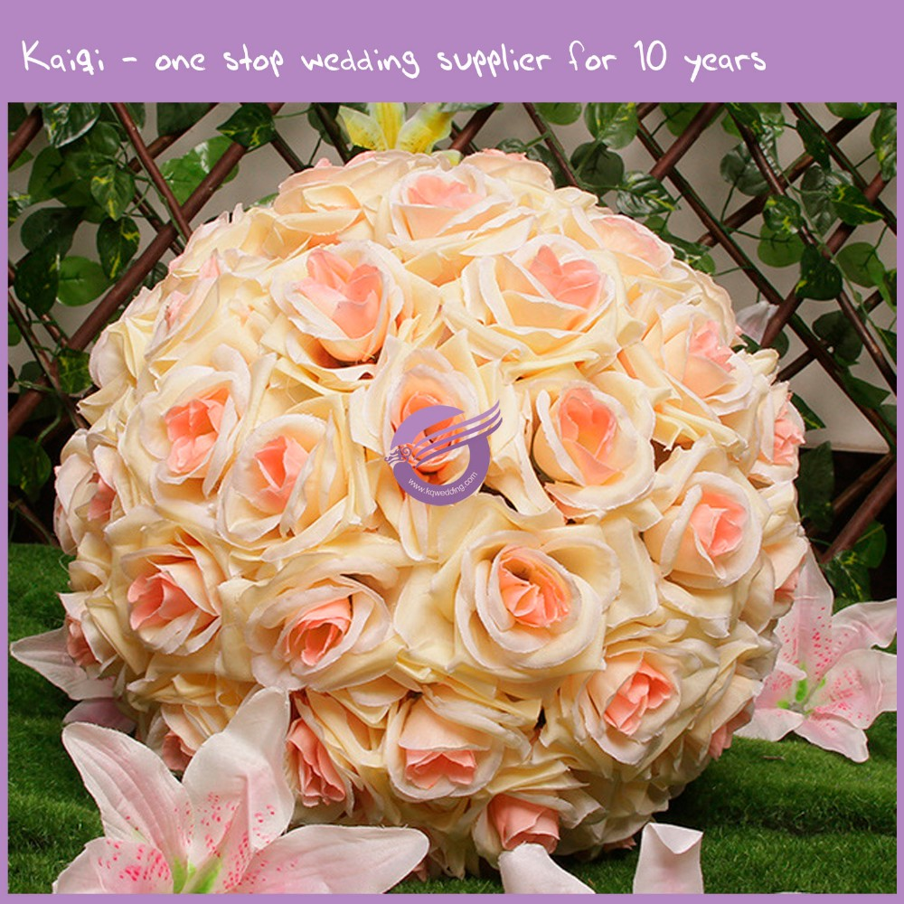 RH00260 ivory and pink wedding flower wall for back drop
