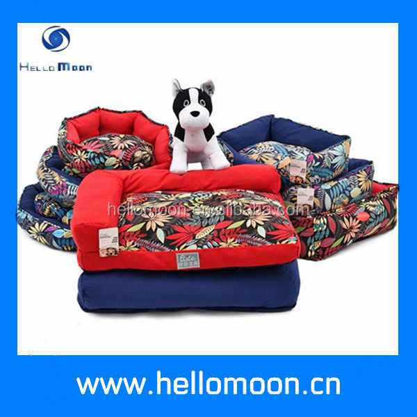 Wholesale Removable Canvas Printing Luxury Dog Bed